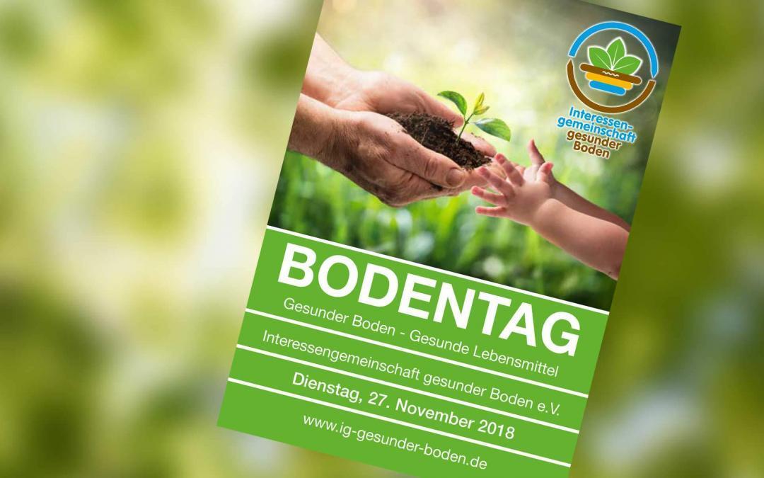 27. November 2018 – Bodentag: Gesunder Boden – Gesunde Lebensmittel